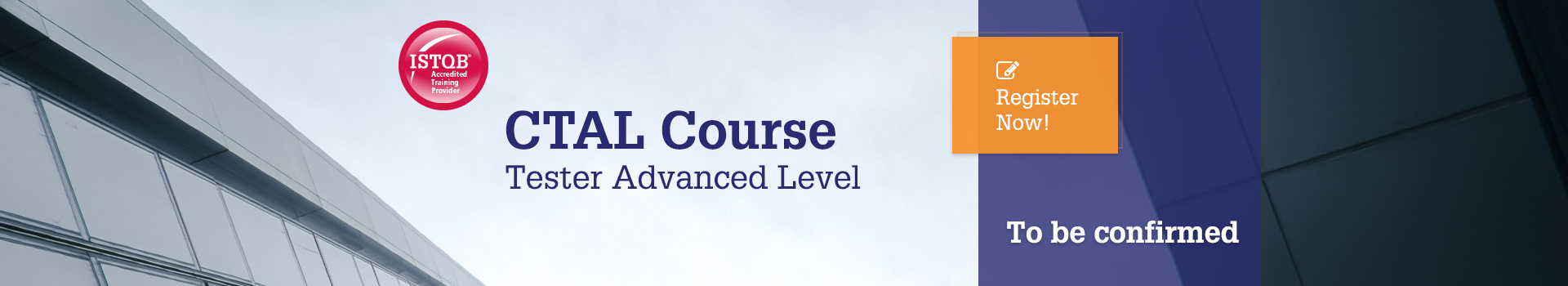 CTAL Course Tester Advanced Level